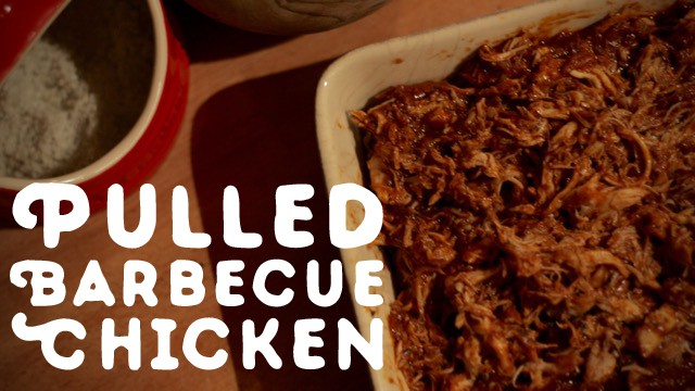 Pulled Barbecue Chicken
