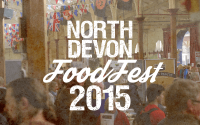 My Christmas comes early at North Devon FoodFest 2015